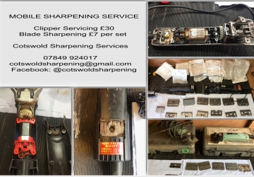 MOBILE CLIPPER SERVICING AND BLADE SHARPENING