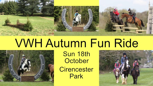 Autumn Fun Ride 18 October 2020
